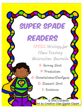 SPADE Close Reading for Interactive Notebooks