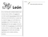 Close Reading SPANISH - Leones