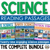 Science Reading Passages Close Reading Bundle