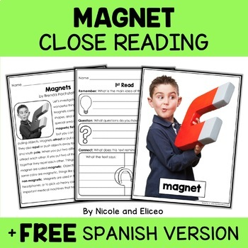 Close Reading Passages - Science Activities