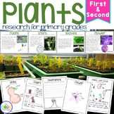 Plants: Integrated ELA and Science Research Pack