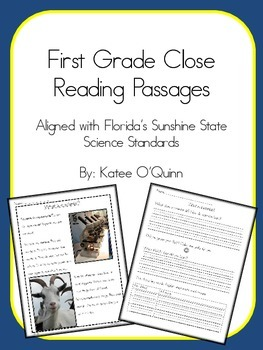 Close Reading Science Passages