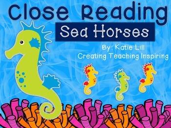 Close Reading -- Sea Horses