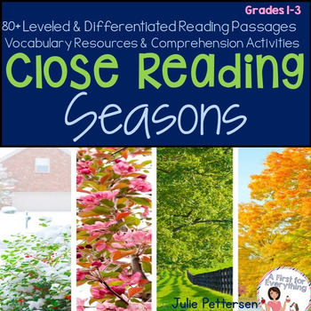Close Reading Seasons