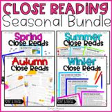 Close Reading Seasons Bundle