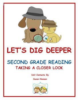 Close Reading: Second Grade Digging Deeper