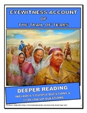Close Reading: Secondary - Trail of Tears: Eyewitness account