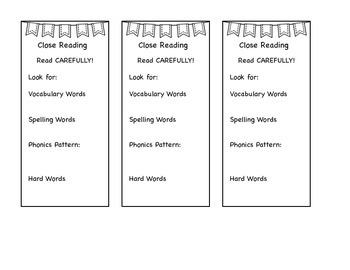 Close Reading Set