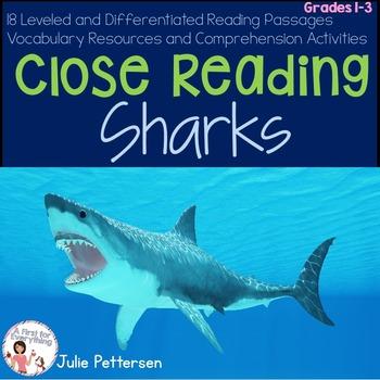 Close Reading Sharks