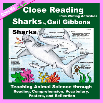 Close Reading: Sharks by Gail Gibbons