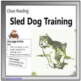Close Reading - Sled Dog Training
