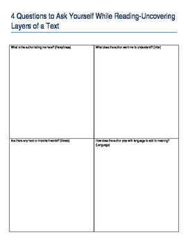 Close Reading Small Group Lesson