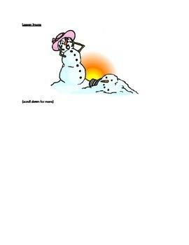 Close Reading-- Snowman