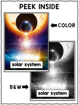 Solar System Close Reading Passage Activities