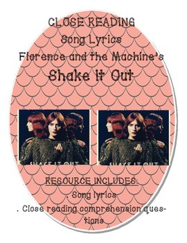 "Close Reading Song Lyrics:  Florence and the Machine's ""Shake it Out"""