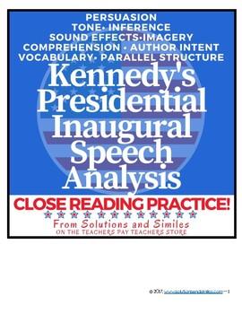 JFK's Inaugural Speech: Close Reading & Constructed Response