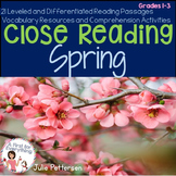 Close Reading Spring