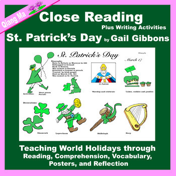Close Reading: St. Patrick's Day