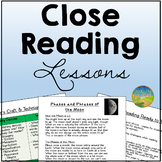 Close Reading Lessons