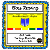 Close Reading Strategies Tab Book
