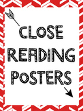 Close Reading Strategies Posters / Handouts