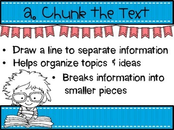 Close Reading Strategy Posters