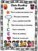 Close Reading Symbols Posters & Bookmarks BUNDLE, Valentin