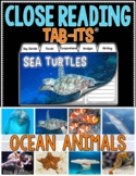 Close Reading - Ocean Animals