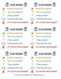 Close Reading Task Card