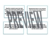 Close Reading Task Cards for Informational and Fiction Texts