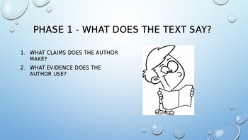 Close Reading Teaching Powerpoint
