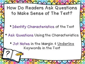 Close Reading & Test Preparation: A COMPLETE Anchor Chart Set for Grades 3-5