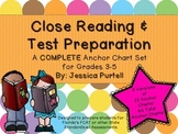 Close Reading & Test Preparation: A COMPLETE Anchor Chart