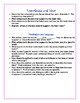 COMMON CORE Close Reading Text Dependent Questions Printable Center