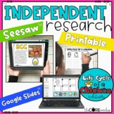 Life Cycle of a Chicken: Integrated Reading, Writing, and Science Research Pack