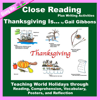 Close Reading: Thanksgiving Is ...