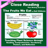 Close Reading: The Fruits We Eat by Gail Gibbons