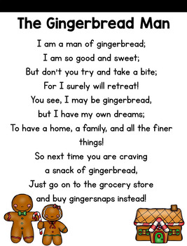 Close Reading: The Gingerbread Man