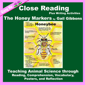 Close Reading: The Honey Makers by Gail Gibbons