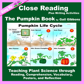 Close Reading: The Pumpkin Book by Gail Gibbons