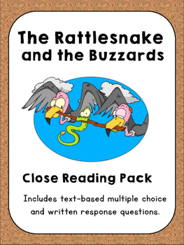 Close Reading ~ The Rattlesnake and the Buzzards