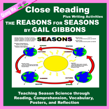 Close Reading: The Reasons for Seasons by Gail Gibbons
