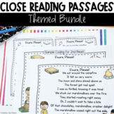Close Reading Passages: Themed Bundle