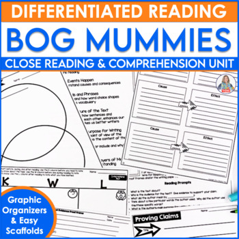 Test Prep and Close Reading Mummies