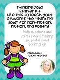 Close Reading Thinking Jobs Starter Kit