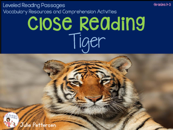 Close Reading Tiger