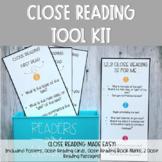 Close Reading Tool Kit