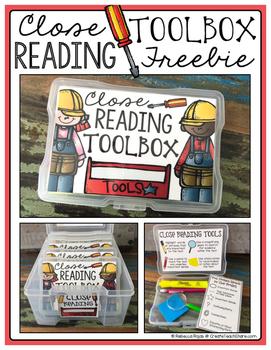 Close Reading Toolbox FREEBIE