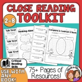 Close Reading Strategies Questions Posters and More for In