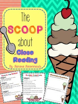Close Reading Tools Common Core